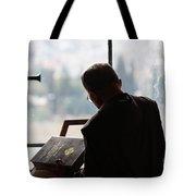 conceptual image of Christianity  Tote Bag