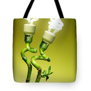 Conceptual Lamps Tote Bag by Carlos Caetano