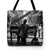 Concert In The Park Tote Bag