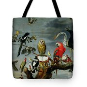 Concert Of Birds Tote Bag