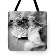 Conch In The Surf Tote Bag