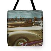 Concours Vintage Car Show Tote Bag