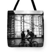 Concrete And Glass Tote Bag