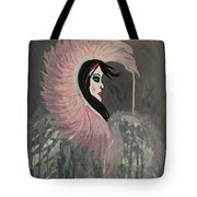 Concrete Angel Tote Bag