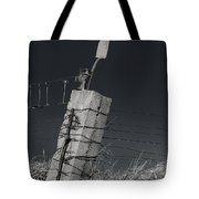 Concrete Post No 1 7257 Tote Bag