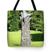 Concrete Tree On Campus Tote Bag