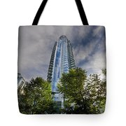 Condominiums Along Waterfront In Vancouver Bc Tote Bag