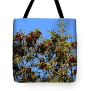 Cone Covered Tote Bag