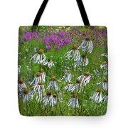 Cone Flower Fairy Dance Tote Bag