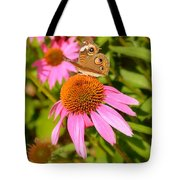 Cone Flower Visitor Tote Bag
