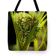 Cone Of Green Tote Bag