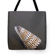 Cone Seashell On The Beach Tote Bag