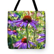 Coneflower Pedals Tote Bag