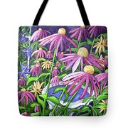 Coneflowers In Gentle Wind Tote Bag