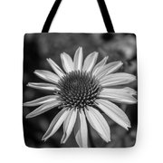 Conehead Daisy In Black And White Tote Bag