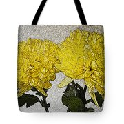 Conversations In The Flower Garden Tote Bag