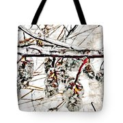 Cones-icicles. Tote Bag