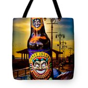Coney Island Beer Tote Bag