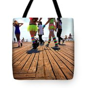 Coney Island Encounters Tote Bag