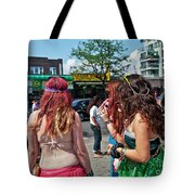 Coney Island Girls Tote Bag