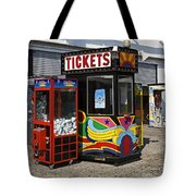 Coney Island Memories 3 Tote Bag