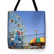 Coney Island Memories 6 Tote Bag