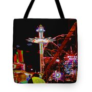Coney Island Opening Day In Brooklyn New York Tote Bag