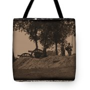 Confederate Artillery Battery Tote Bag