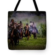 Confederate Cavalry Charge Tote Bag