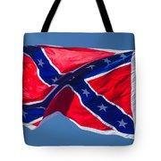 Confederate Flag 3 Tote Bag