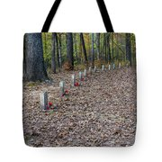 13 Unknown Confederate Soldiers - Natchez Trace Tote Bag
