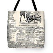Confederate Newspaper Tote Bag