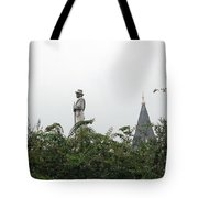 Confederate Soldier Standing Tall Tote Bag