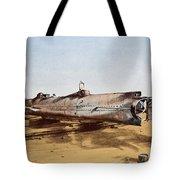 Confederate Submarine, Hunley Tote Bag
