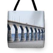 Confederation Bridge 5511 Tote Bag