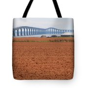 Confederation Bridge 5531 Tote Bag