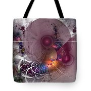 Confetti - Fractal Art Tote Bag