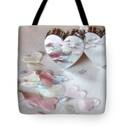 Confetti Hearts Tote Bag