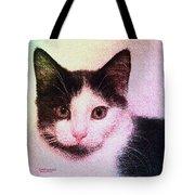 Confetti Kitty Tote Bag