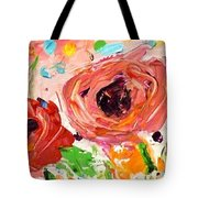 Confetti Poppies Tote Bag