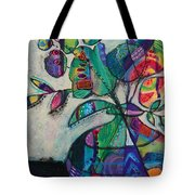 Confident Blooms.marymconner Tote Bag