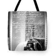 Confidently Lost - Immortal Beloved Love Letter Tote Bag