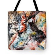 Conflict And Dialogue Tote Bag