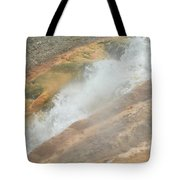 Conflict Of Forms Tote Bag