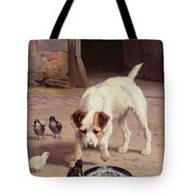 Confrontation Tote Bag by Alfred Duke