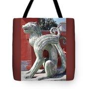 Confucius Temple Phoenix  Tote Bag