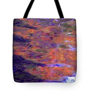 Contour Of Hot Energy Lines Tote Bag