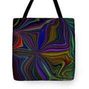 Conglomerate Of The Color Wheel Tote Bag