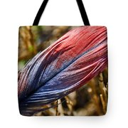 Congo African Grey Feather Tote Bag