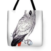 Congo African Grey Parrot Tote Bag